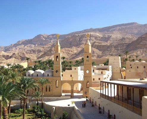 Monastery of Saint Anthony, Eastern Desert, Egypt