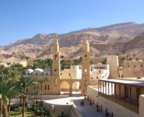 Monastery of Saint Anthony, Eastern Desert, Egypt