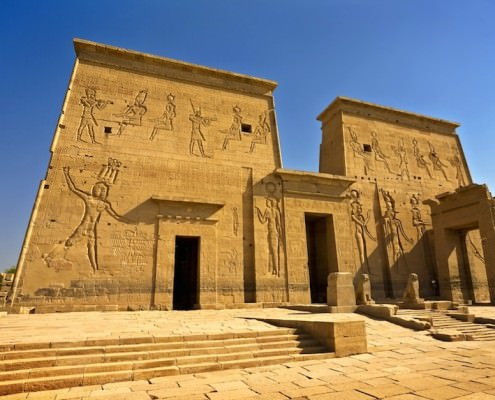 Philae Temple of Isis, Aswan