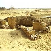 Ruins at the Temple of Ain El Muftella