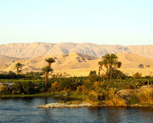 Sahara Desert and Nile River