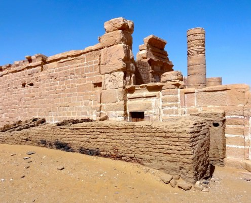 Temple of Deir El Hagara, Farafra Oasis, Egypt