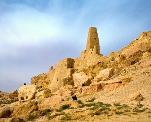Temple of the Oracle, Aghurmi, Siwa Oasis, Egypt