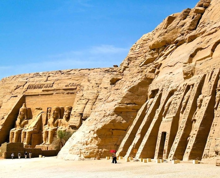 Temples of Abu Simbel are one of the highlights of a trip to Egypt