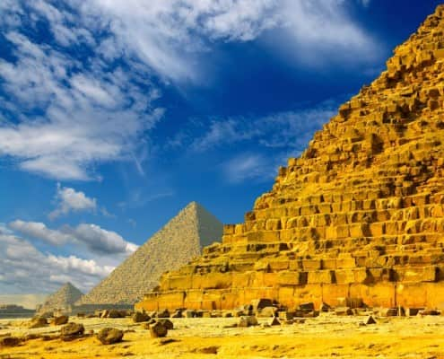 Egypt Tourist Attractions - Giza Pyramids