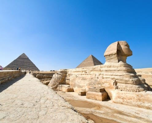 The culmination of an Egypt tour - The Giza Plateau