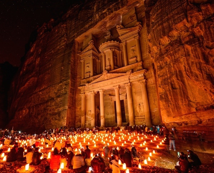 Another highlight of any Middle East tour package is the Rose City of Petra, Jordan