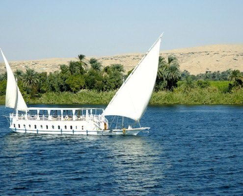 Dahabiya Nile cruise boat