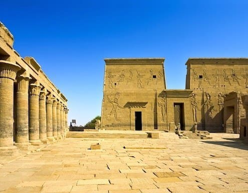 Philae Temple at Aswan is one of the highlights of luxury Nile cruises