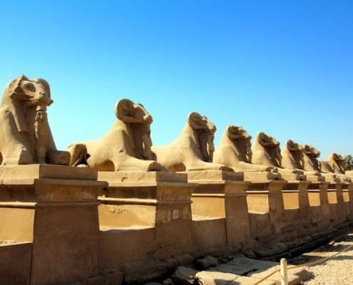 Sightseeing in Luxor is always included when cruising the Nile on a luxury cruiser