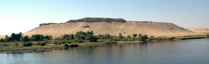 Typical Nile River scenery