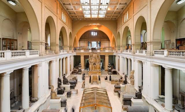 Trips to Egypt - Egyptian Museum in Cairo