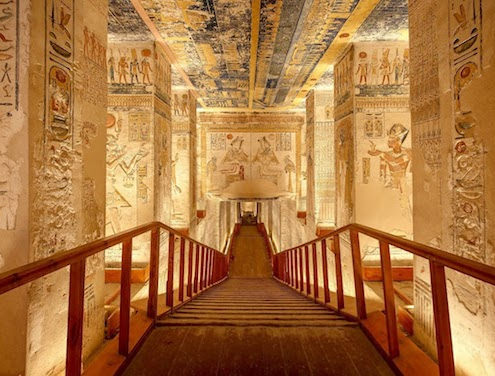 Vacation Packages to Egypt - Tomb in Valley of the Kings