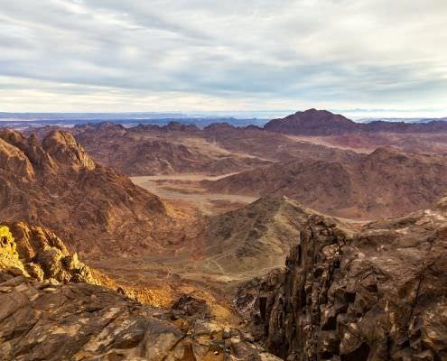 Sinai From Sharm