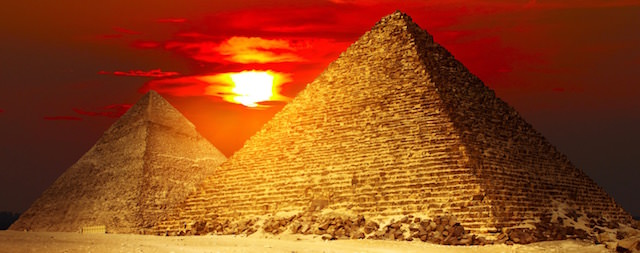 Cairo Attractions - Pyramids of Giza