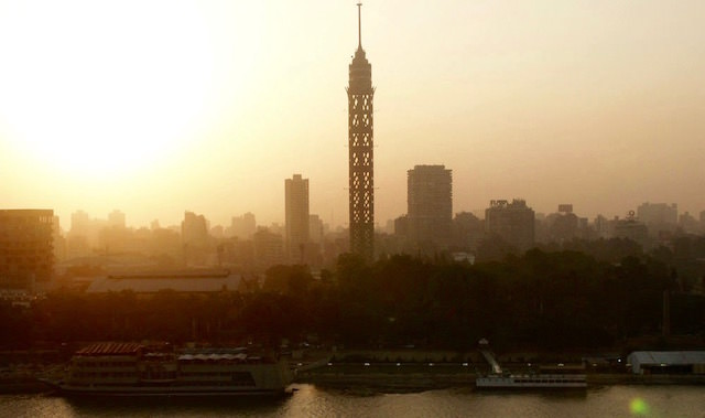 Places to Visit in Cairo - Sunset over Cairo Tower
