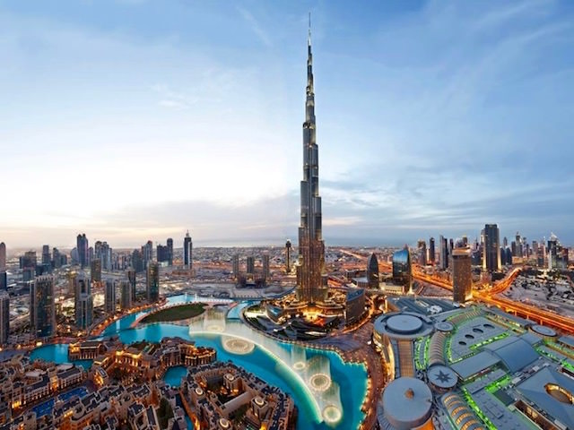 Dubai Attractions - Burj Khalifa Tower