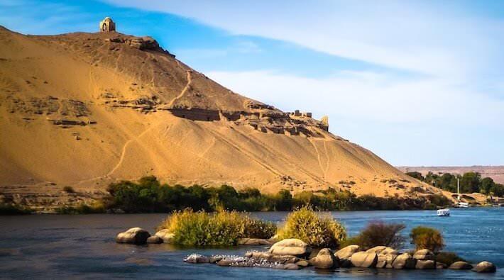Cruzeiro Dahabiya no Nilo e Cairo