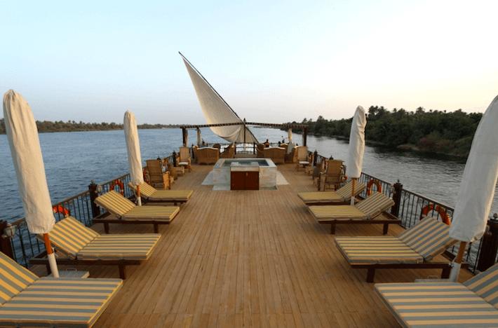 Luxury Dahabiya Nile Cruise 2