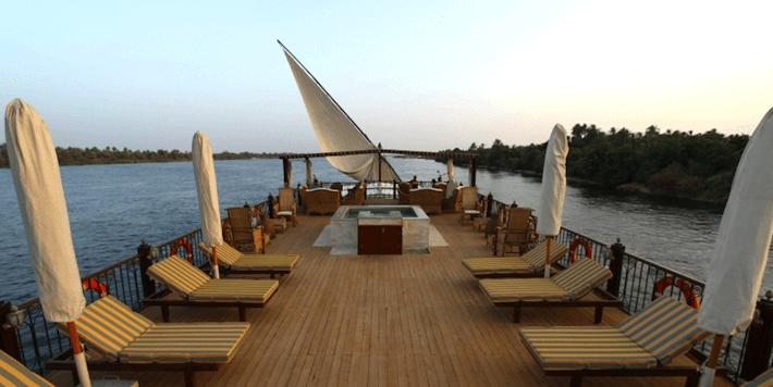 Luxury Dahabiya Nile Cruise