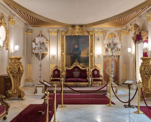 Throne Hall at Manial Palace
