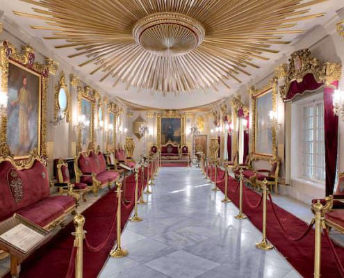 Throne Hall at Manial Palace of Prince Mohammed Ali Tewfik