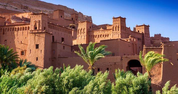 Morocco Adventure Tours - Ait Benhaddou, Ouarzazate River