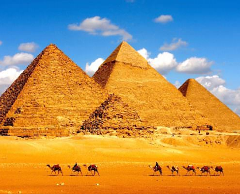 Morocco And Egypt Tours - Pyramids of Giza