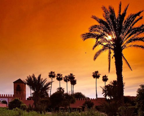 Morocco 7 Day Itinerary - Marrakech Sunset