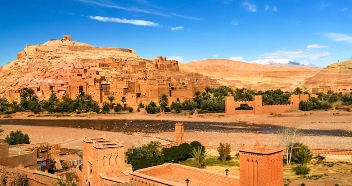 Destinations to visit in Morocco - Ait Benhaddou