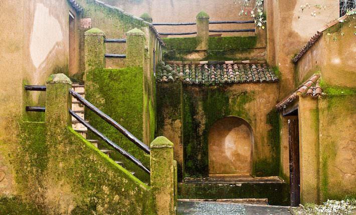 Arabic Monastery Interior Facade