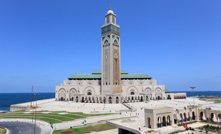 Top Tourist Attractions in Casablanca, Morocco - Great Mosque Hassan II