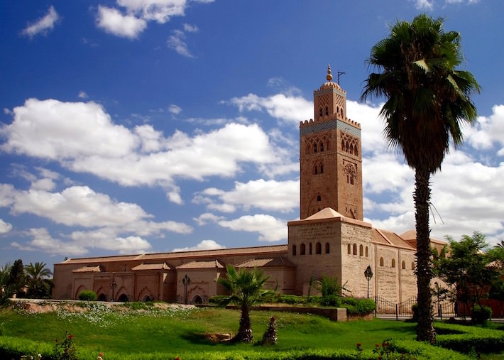 Tours in Marrakech should include a visit to Koutoubia Mosque