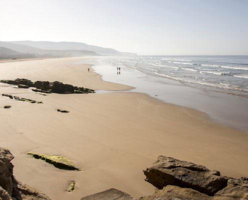 Things to Do in Agadir - Idyllic sand beach near Agadir in Morocco