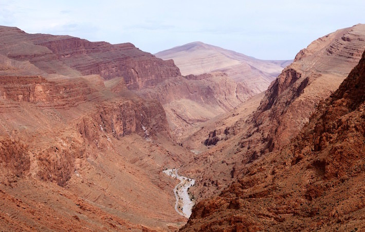 Todra Gorge in the Atlas mountains - The Moroccan Grand Canyon