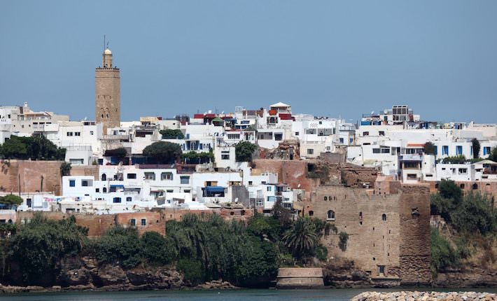 Places to visit - Old town of Rabat, Morocco