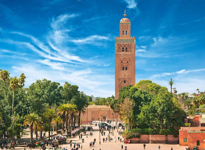 Places of Interest in Marrakech, Morocco - Koutoubia Mosque