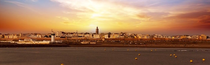 Sunset in Rabat, Morocco - Tourist Attractions