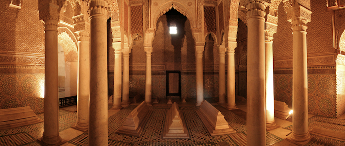 Top Attractions in Marrakech - Saadian Tombs