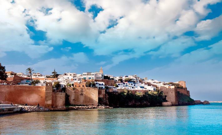 Attractions in Rabat - The historical Medina of city of Rabat, Morocco