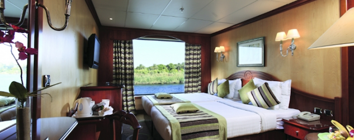MS Amarco I Nile Cruise Cabin