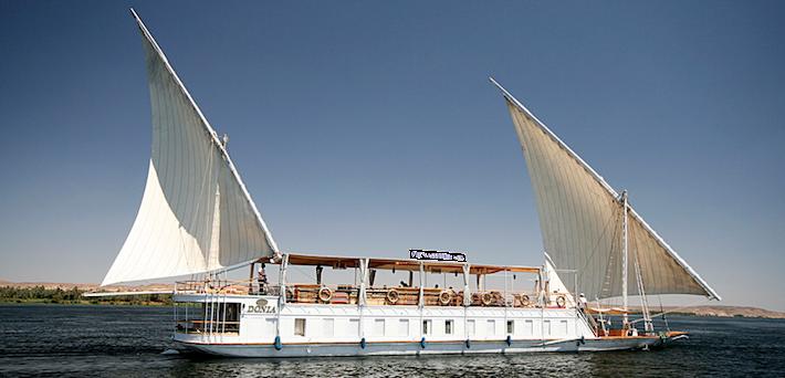 MS Donia Dahabiya Nile Cruise