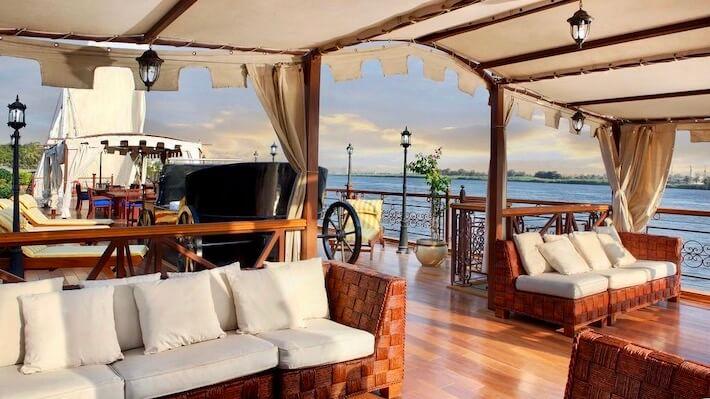 Amirat Dahabiya Nile Cruise Deck 2