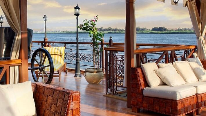 Amirat Dahabiya Nile Cruise Deck