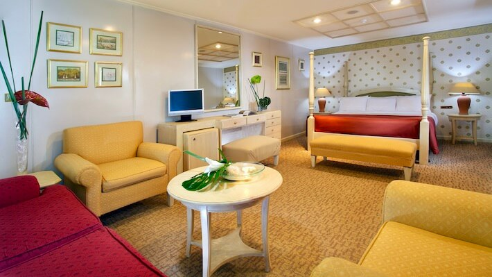 Movenpick MS Prince Abbas - Suite