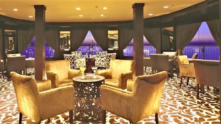 MS Steigenberger Omar El Khayam Nile Cruise - Lounge Bar
