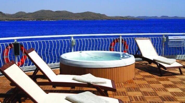 MS Steigenberger Omar El Khayam Nile Cruise - Sun Deck