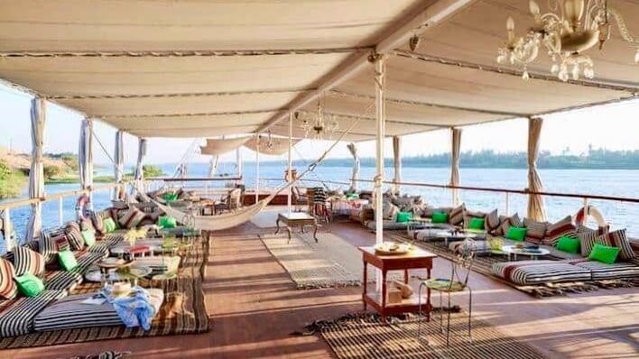 Nour El Nil Dahabiya Nile Cruise - Sun Deck 2