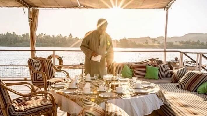 Nour El Nil Dahabiya Nile Cruise - Sun Deck