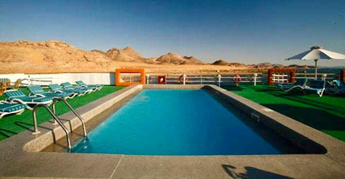 Nubian Sea Nile Cruise - Pool Deck